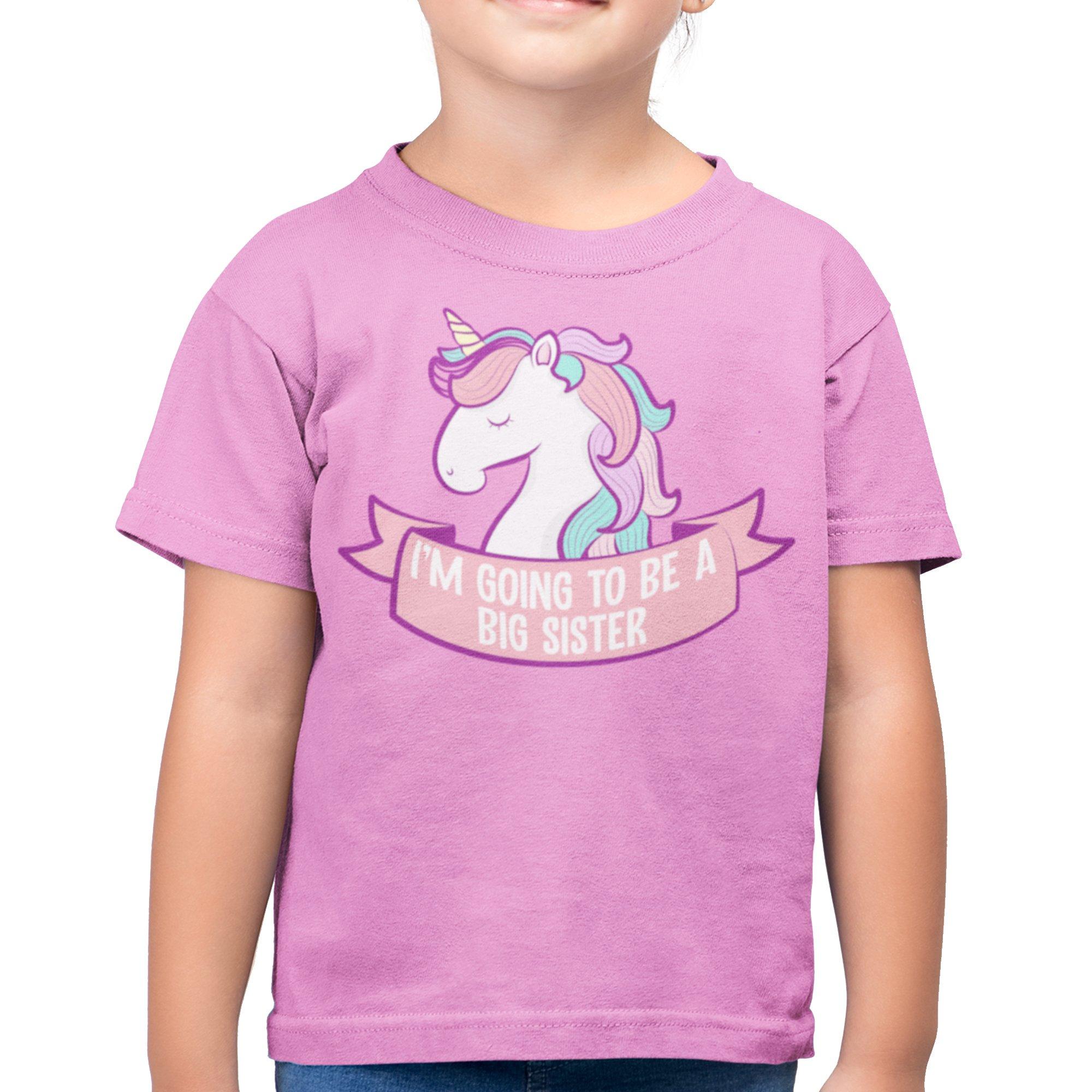t-shirt chicas soy gran hermana Los niños T-Shirt con motivo GGS 2016 04