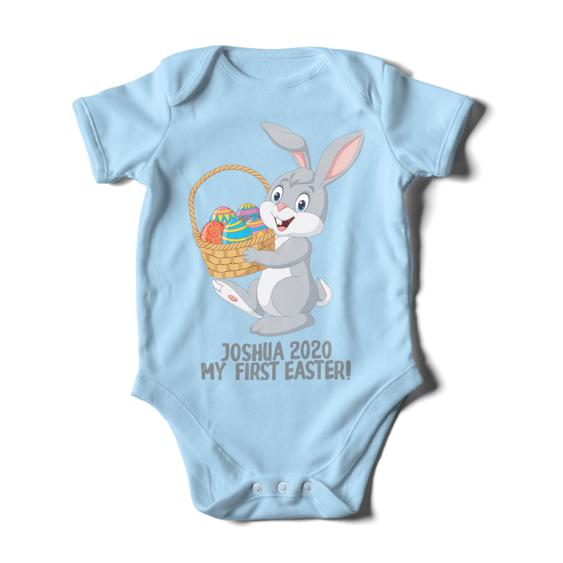 Personalised My First Easter 2019 Baby Grow Romper Baby Gifts Bunny Cute
